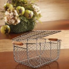 $4.99!!' Oversized Wire Tackle Box Basket.. Perfect for weddings, centerpiece, breadbasket flowers cards etc...