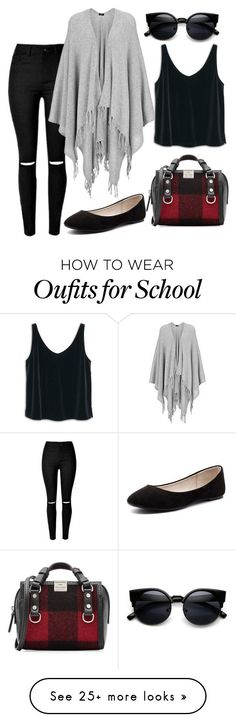 """ues school"" by meloprea on Polyvore featuring Dsquared2, MANGO, Joseph, Verali, women's clothing, women, female, woman, misses and juniors"