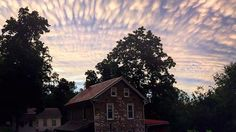 PHOTOS: Northeast Sunset Illuminates Mammatus Clouds  Following Severe Storms - this was in Reading, PA