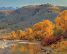 Yellowstone River Channel by Clyde Aspevig