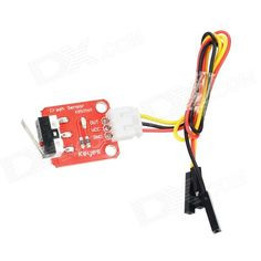 Keyes DIY Crash Sensor Module for Arduino (Works with official Arduino Boards) - Red. This module can be used to control lighting, sound, LCD menu, 4WD aluminum alloy portable robot platform and realize collision test.. Tags: #Electrical #Tools #Arduino #SCM #Supplies #Sensors