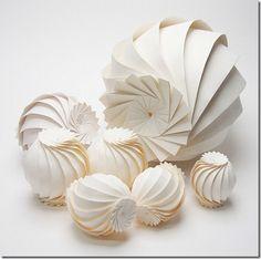 3d origami paper sculptures