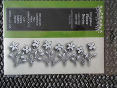 PoppyStamps Brighton Flower Border craft die memory Box