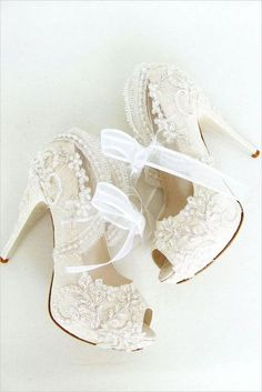 In each instance, you may also have your reception outdoors, developing a picturesque, memorable ceremony whilst eliminating the price of renting a ve... #weddingshoes