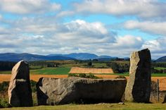Tomnaverie Stone Circle, Aberdeenshire, Scotland