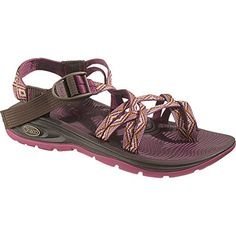 Chaco ZVolv X2 Sandal  Womens Pink Diamonds 50 -- You can get more details by clicking on the image.