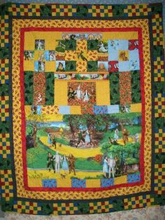 I would love to have a Wizard of Oz quilt