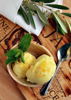 Olive Oil gelato?  Yes, please!
