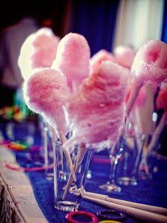 Mini cotton candy.