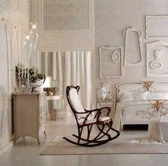 Wait ... an Art Nouveau rocking chair? ! Interior Decorating Ideas Influenced by Design Style Modern