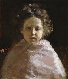 Antonio Mancini - Ritratto di un bambino 1874