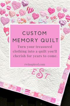 I understand how personal a memory quilt is, so I take great care in constructing a one of a kind piece that honors the treasured clothing you've entrusted to me. Beginner Quilt Patterns, Quilting For Beginners, Quilting Tips, Quilting Tutorials, Sewing For Beginners, Quilting Projects, Quilting Patterns, Memory Quilts, Girl Scout Crafts