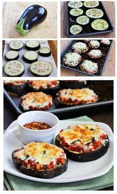 Foto: Onda light: berenjenas al horno con queso por salut y salsa de tomate. Un manjar