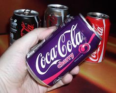 2011 Cherry Coke Purple Can France by roitberg, via Flickr