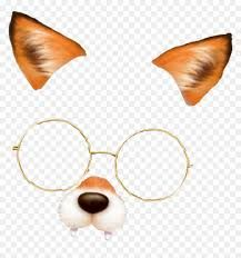Transparent Snapchat Overlay Png Snow Fox Filter Png Png Download Vhv Overlays Png Snapchat Filters Png