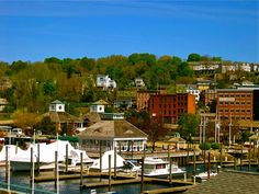 2013 Great Places in America: Neighborhoods – Downtown Norwich, Norwich, Connecticut • Downtown Norwich overlooks picturesque Norwich Harbor, which has become a world-class marina. Photo courtesy Keith Ripley.  http://www.planning.org/greatplaces