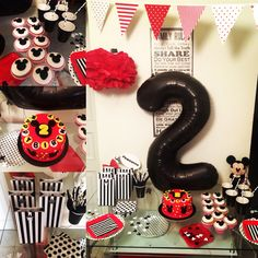Mickey 2y birthday party