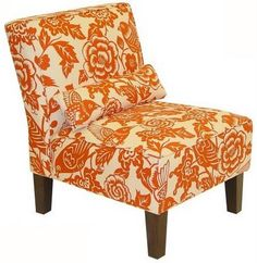upholstered chair  (pattern!!!)