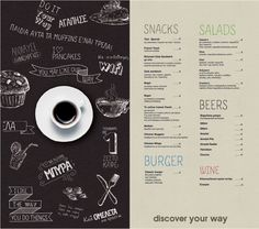 Discover Bookstore - Discover YOUR WAY Cafe - Patras Drawing, Graphic Design, Illustration