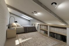 Komsomolsky apartment (3d modeling and visualization) by Curly studio, via Behance