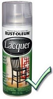 the type of lacquer to use
