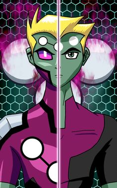 LOSH: New Face of Brainiac 5 by ~mystryl-shada omygosh I found this on pintrest people still know about Brainy!!!!!!!1