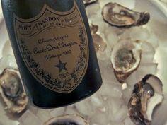 Dom Pérignon 1990 feat. oysters  #domperignon #oysters