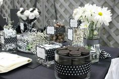 Black & White Theme Party