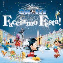 """Disney on Ice - Facciamo festa - Un grande spettacolo divertente ed appassionante con oltre 50 personaggi tratti da 16 storie Disney, per accompagnare gli spettatori in un ideale """"giro del mondo"""", tra destinazioni esotiche come il Brasile (con la sua sfilata di Carnevale) o come le Hawaii..."""