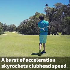Overview: Our golf swing trainer guides you to impact, improving shot accuracy, and clubhead speed on the downswing. Golf Swing Speed, Swing Trainer, Muscle Memory, Communication System, Play Golf, Golf Courses