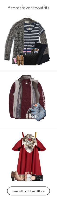 """#corasfavoriteoutfits"" by cora-g77 ❤ liked on Polyvore featuring Abercrombie & Fitch, NIKE, Gatsby, Kate Spade, madimadsfall2k16, Vineyard Vines, Patagonia, Levi's, Converse and Mikimoto"