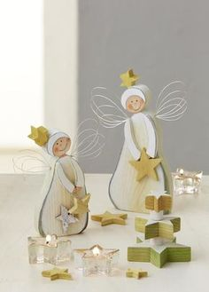 Wood and Wire Christmas Angels Homemade Christmas, Christmas Angels, Rustic Christmas, Christmas Time, Xmas, Christmas Projects, Holiday Crafts, Wood Crafts, Diy And Crafts