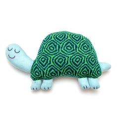 Hector the Tortoise Lambswool Plush - Made to order