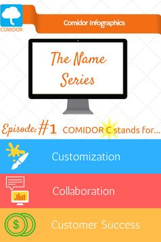 "Comidor Digital Business Transformation Platform is revealing its name secrets. What does ""Comidor"" mean? Episode C stands for. Stand By Me, Infographic, Management, Platform, Coding, Names, Learning, Digital, Business"