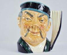 "Toby Character Jug (Small) ~""The Mikado"" ~ Royal Doulton D6507, #9120860"