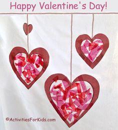 valentine heart template