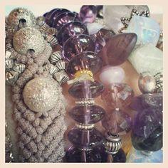 Violet bracelets