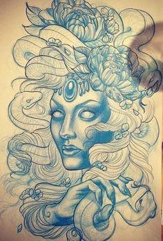 tattoo designs pin up - Pesquisa Google