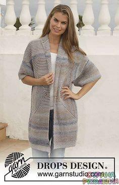 Интересный геометрический кардиган - Жакеты,Пуловеры, свитера - Вязание спицами - Рукоделие