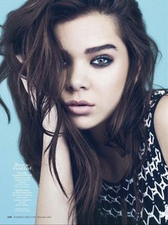 Hailee Steinfeld - Marie Claire magazine (November 2013) - GotCeleb