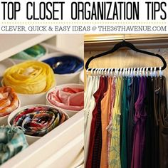 Top 10 Closet Organization Ideas