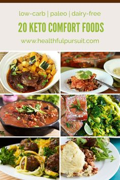Really nice recipes. Every hour. • 20 Keto Comfort Foods (low-carb + dairy-free)...