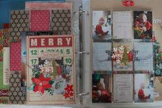 A page from the Journal Your Christmas class....so cute!