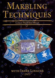 Swirl and marble your soaps like a pro - Irene makes it easy to understand!: Irene Linauer's DVD Marbling Techniques for Cold Process Soap