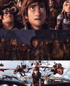 Is hiccup crying in the picture? Httyd Dragons, Dreamworks Dragons, Httyd 3, Dreamworks Animation, Hiccup, Disney And Dreamworks, Animation Film, How To Train Dragon, How To Train Your