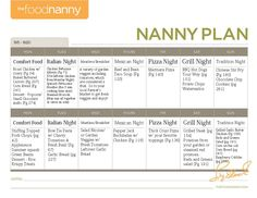 The Food Nanny has a great plan for getting your kitchen back into cooking mode again. Just in time for back to school and family dinner time, here is a look at how to plan meals two weeks at a time to make sure they happen. I love her.