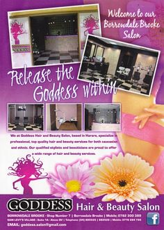 Goddess Salon now open in Borrowdale Brooke Shopping Centre