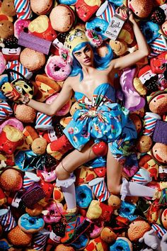 #Sweetie: Cara Delevingne by Liz Collins for LOVE Magazine #fw14 #fastfood