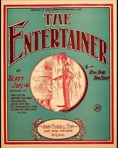 The Entertainer - SCOTT JOPLIN ¤ Ragtime Piano Legend ¤