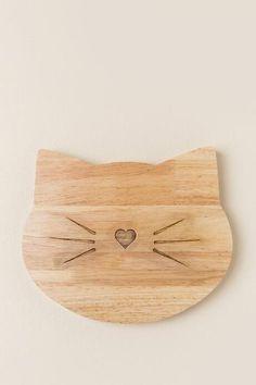 Kitty Cutting Board $18.00